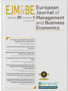 European Journal Of Management And Business Economics Emerald Publishing