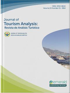 journal of tourism analysis revista de analisis turistico emerald publishing journal of tourism analysis revista de