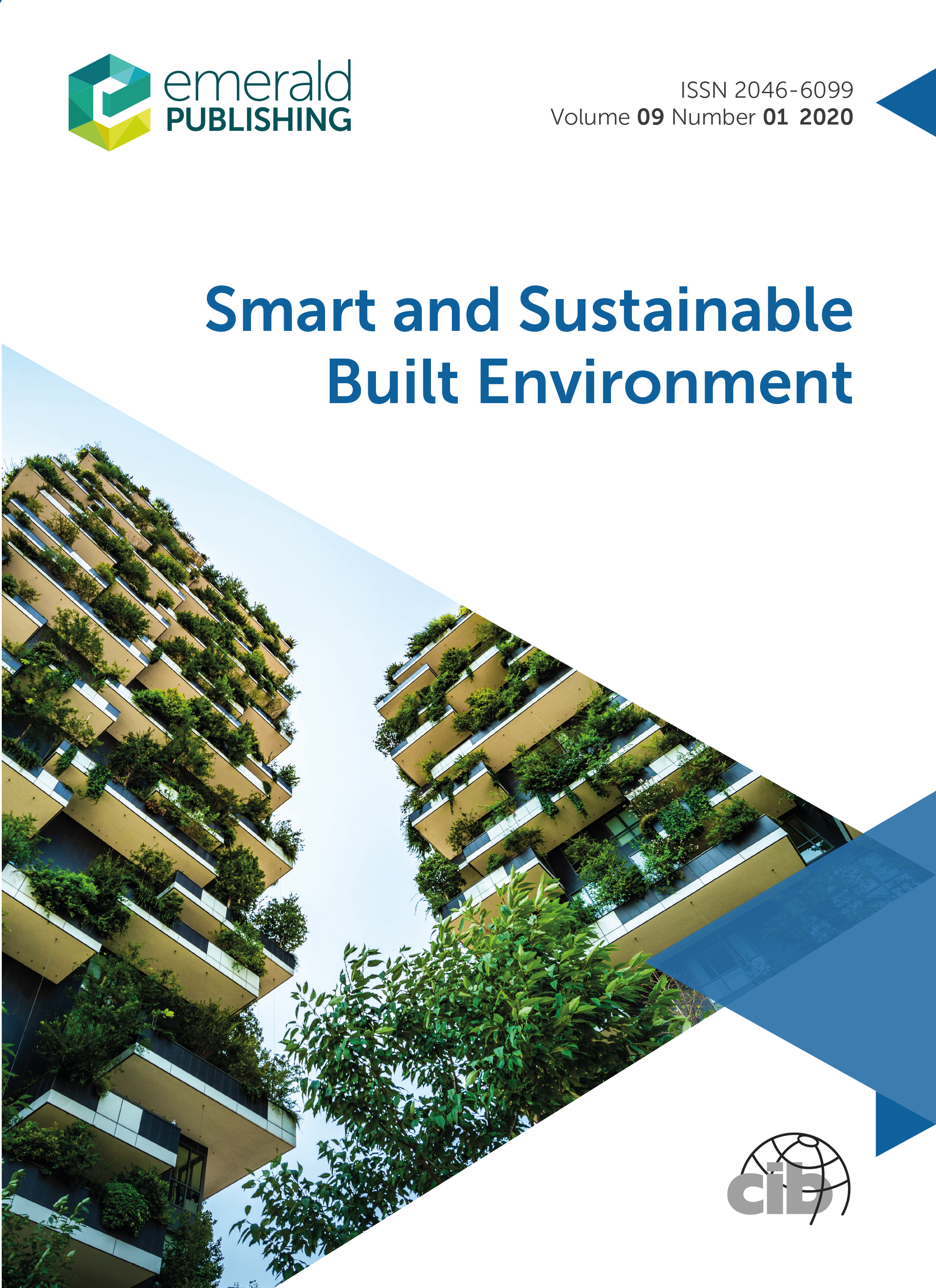 Smart And Sustainable Built Environment Emerald Publishing