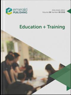Education + Training | Emerald Publishing