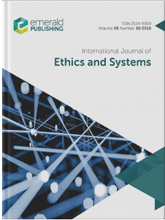 International Journal Of Ethics And Systems Emerald Publishing