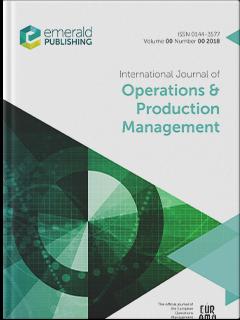 International Journal Of Operations Production Management Emerald Publishing