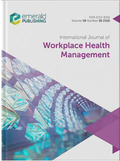 International Journal Of Workplace Health Management Emerald Publishing