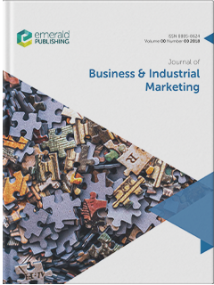 Journal Of Business Industrial Marketing Emerald Publishing