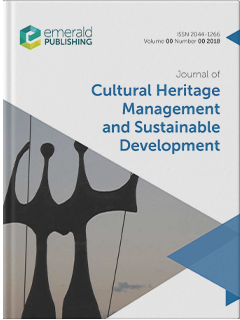 Journal Of Cultural Heritage Management And Sustainable Development Emerald Publishing