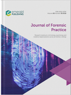 Journal Of Forensic Practice Emerald Publishing
