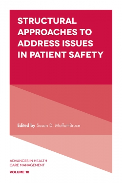 Structural Approaches to Address Issues in Patient Safety cover
