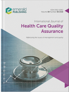 International Journal of Health Care Quality Assurance cover
