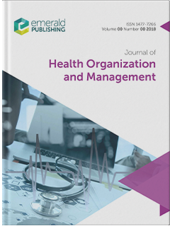 Journal of Health Organization and Management cover