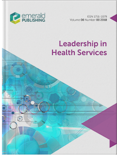 Leadership in Health Services cover