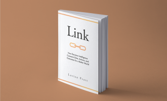 Link Book Cover visual mockup