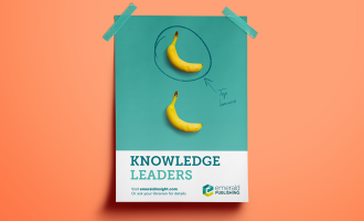 Photo of Emerald Publishing knowledge leader poster mockup