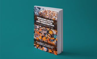 Unmaking Waste in Production Book Cover visual mockup