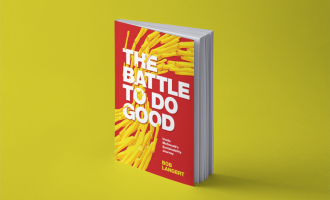 The Battle to Do Good Book Cover visual mockup