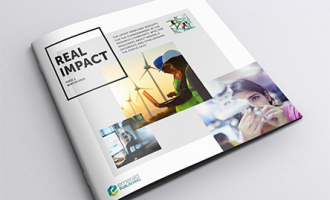 Real Impact newsletter issue 1 cover