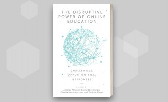 Disruptive Power of Online Education book image