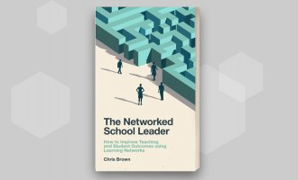 Networked school leader book jacket