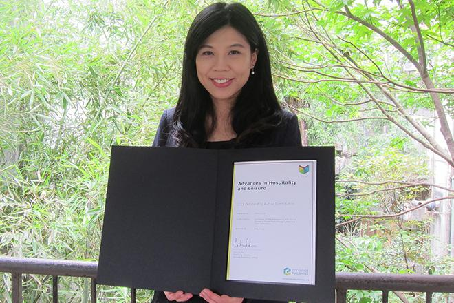 Wan-Yu Lui received an Outstanding Author Contribution Award
