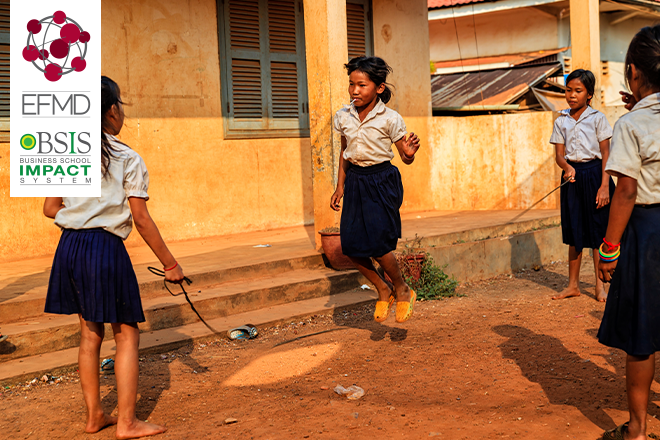 Real Impact is improving prospects for young girls in rural communities
